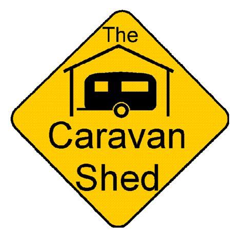 perth caravan and cing show the caravan shed logo