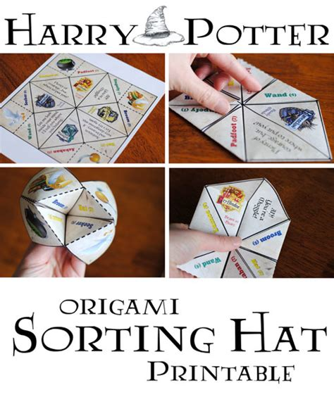 Harry Potter Things To Make Out Of Paper - harry potter crafts the crafting
