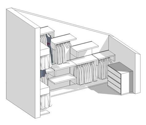 cabine armadio in mansarda il progetto di una cabina armadio in mansarda