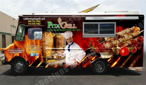 food truck design ideas 3d wrap design for a food truck vehicle wraps