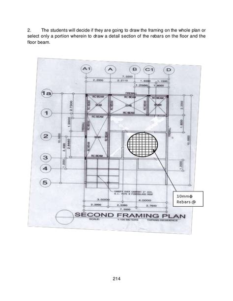 House Floor Plan Samples module 4 module 2 structural layout amp details