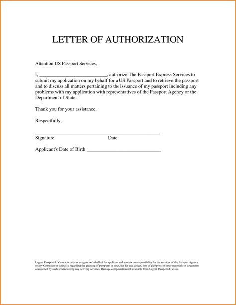 consent letter format for minor indian visa consent letter format pdf fresh authorization letter