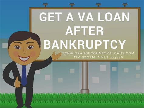 va loan after bankruptcy only 2 year wait for orange
