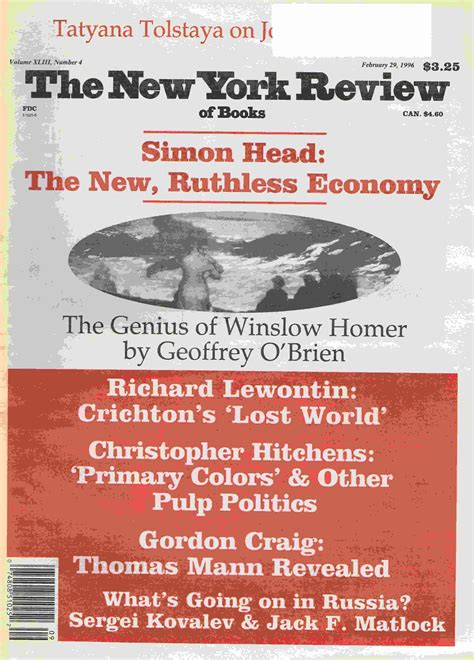 new york review of books oldmags com new york review of books february 29 1996