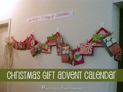diy christmas gift paper envelope advent calendar