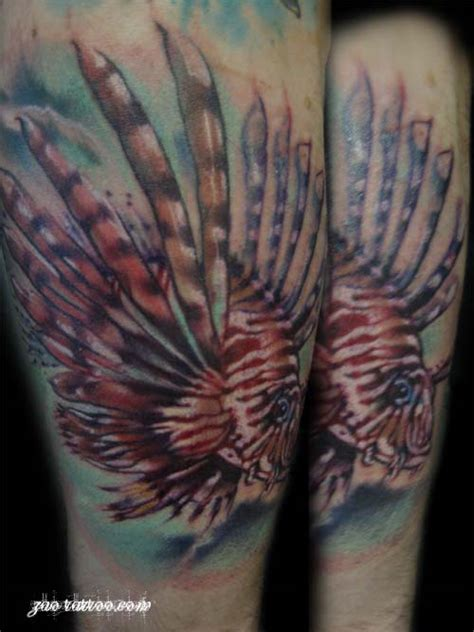 lionfish tattoo designs tattoos design and ideas