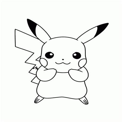 imagenes para colorear y dibujar dibujos de pikachu para colorear e imprimir gratis