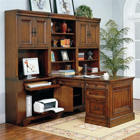 aspen richmond executive desk aspenhome richmond modular peninsula desk wall belfort