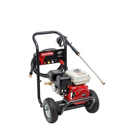 honda power washer 3000 psi craftsman 75236 3000 psi 2 8 gpm honda powered