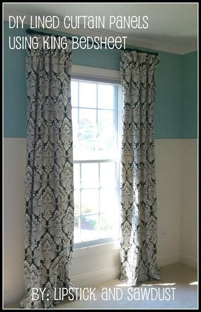 Lined Curtains Diy Inspiration 41 Best Images About Windows Doors Trim On Pinterest Shades Window And Door Trims