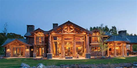 Handcrafted Log Home - handcrafted log homes mlled logs hewn logs