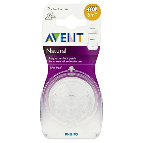 New Design Avent Silicone Teats philips avent scf654 27 teat fast flow 6m 2