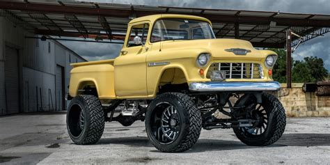 chevy lifted 1955 chevy truck lifted imgkid com the image kid
