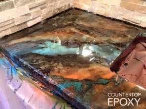Bar Top Epoxy Reviews by Best 25 Epoxy Countertop Ideas On Epoxy Resin