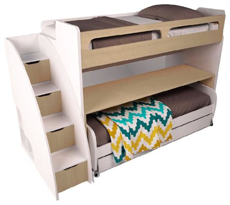 double bunk bed with sofa shop houzz multimo bel mondo twin bunk bed with sofa