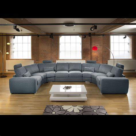 modern u shaped sectional sofa massive modern high quality u shape sofa corner group