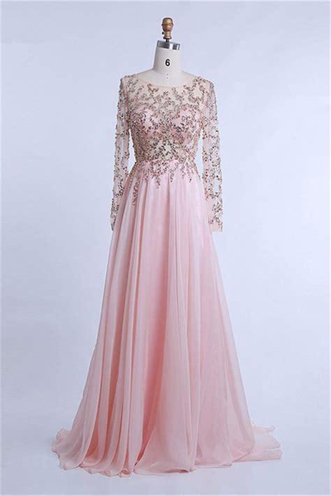 light pink chiffon dress sheer sleeve light pink chiffon tulle beaded