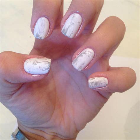 Gellak Nails by Marble Nail Met Pink Gellac Gel Nagellak