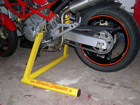 Motorrad Montagest Nder Vorne Selber Bauen by Montagest 228 Nder F 252 R Einmannbedienung Ducati Motorrad