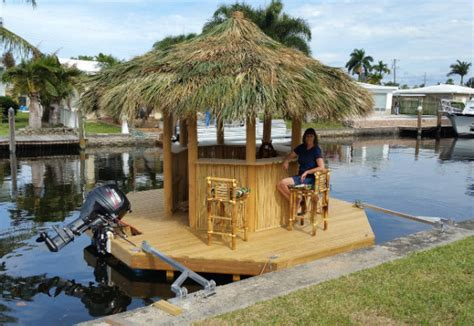 Tiki Bar Boat Go Ahead And Add This Tiki Bar Boat To All Of Your Wishlists