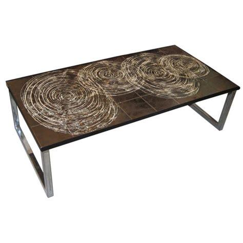 italian ceramic and chrome coffee table at 1stdibs