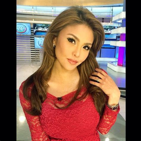 Gf In Red Dress Filipina Beauty Pretty Face Instagram