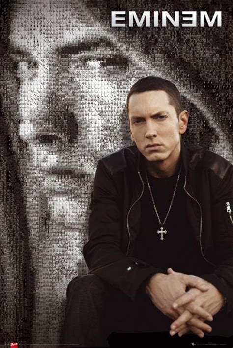 Eminem Poster | eminem posters eminem mosaic poster lp1466 panic posters