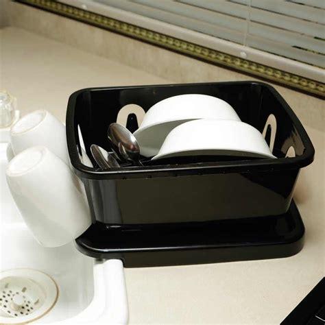 sink accessories dish drainer black rv dish drainer direcsource ltd sm 150729 01