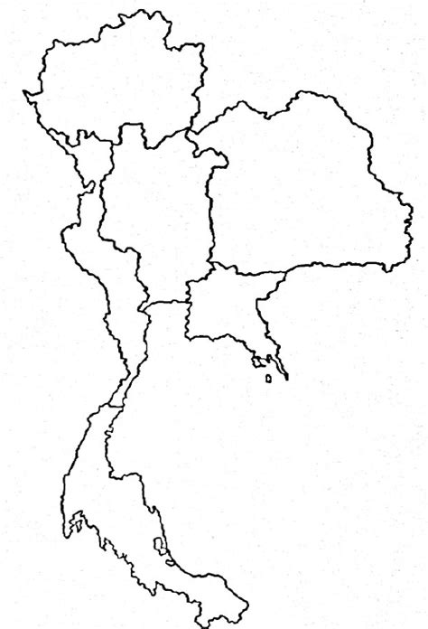 thailand map free coloring pages