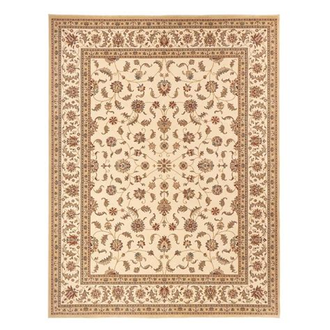 area rugs home decorators home decorators collection maggie cream 5 ft 3 in x 7 ft