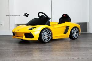 Miniature Lamborghini Featured Fitment Mini Lamborghini With New Wheels