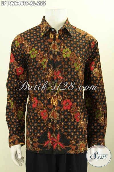 Baju Batik Pria Slimfit Batik Mewah Harga Terjangkau Kwalitas Dijamin model baju batik pria lengan panjang mewah harga