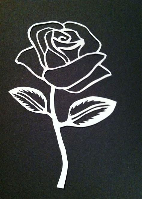 printable stencils rose rose stencil by livelifeeasy on deviantart