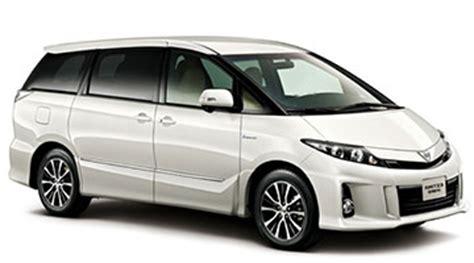 toyota estimate toyota estimate mpv car rental services car asia car