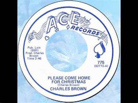 charles brown come home for christmas ace