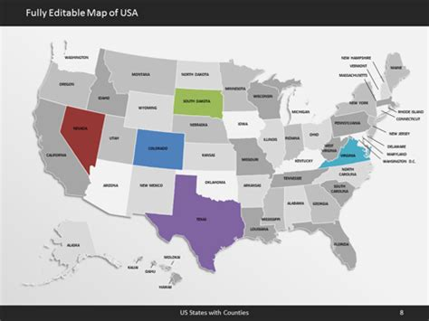 editable us map editable us map with state names