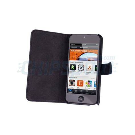 funda ipod touch 5 funda piel litchi ipod touch 5 negro chipspain