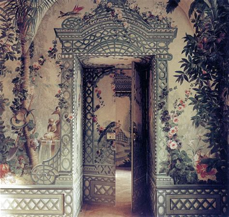 hand painted wall design my work pinterest discover and suddenly i m interested in wallpaper