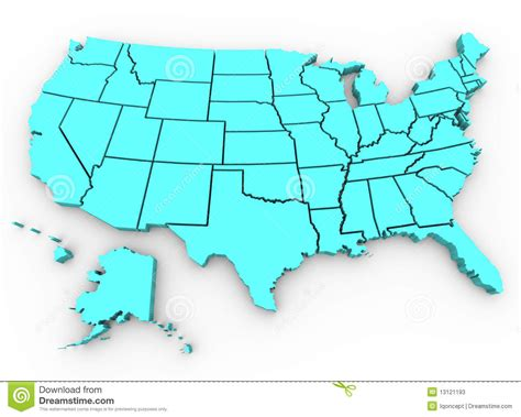 3d map of the united states 3d map of united states images