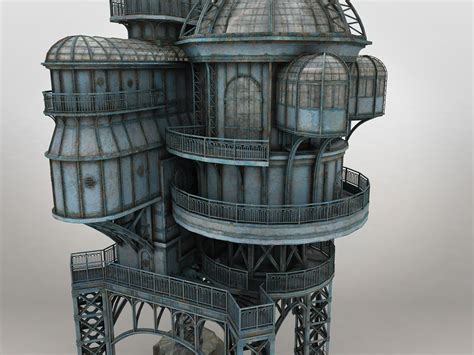 SteamPunk Lost House
