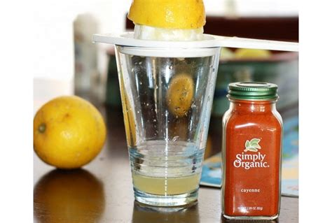Detox Cleanse Cayenne Pepper Recipe by The Lemon Organic Honey Cayenne Pepper Diet Juju