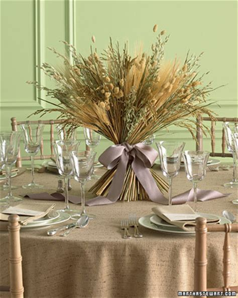 martha stewart fall decorating harvest centerpiece step by step diy craft how to s