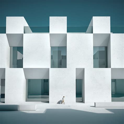 minimalist architects michele durazzi creates surreal minimalist architecture