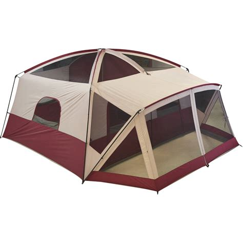 cabin tent with screen room ozark trail cabin tent with screen room 14x12