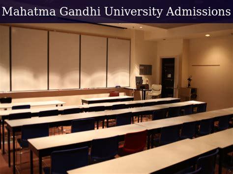 Mahatma Gandhi Delhi Mba by Mahatma Gandhi Offers Admissions To