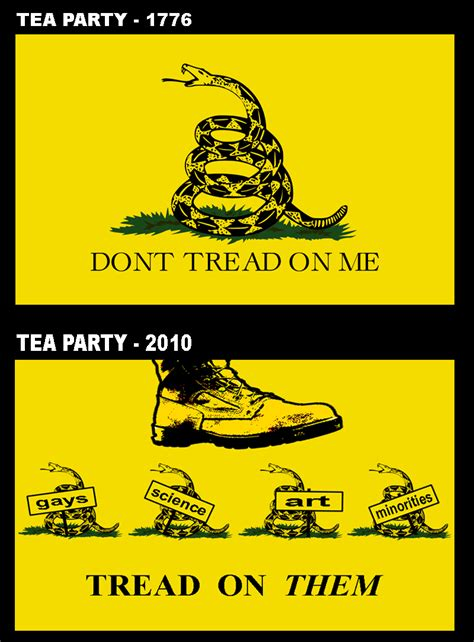 Dont Tread On Memes - tea party gadsden flag don t tread on me know your meme