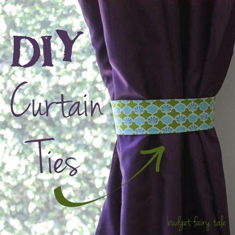 diy curtain ideas for kitchen memsaheb net diy curtain tie backs nursery memsaheb net
