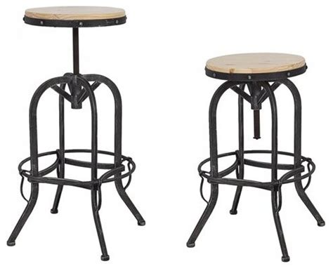 industrial design bar stools vintage bar stool industrial metal design wood top