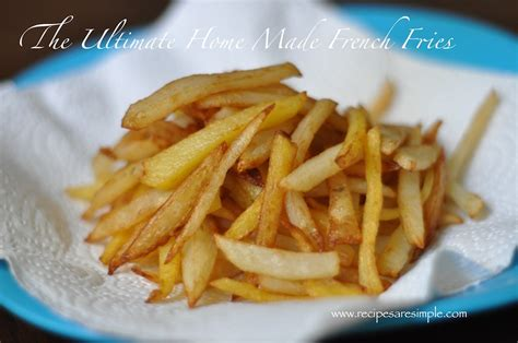 ultimate fries how to make