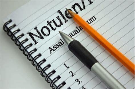 Contoh Rapat Notulen by 5 Contoh Notulen Rapat Kantor Sekolah Osis Diskusi Dan